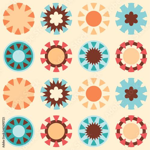 seamless_retro_circle - 63690723