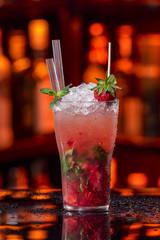 Strawberry Fruit Mojito