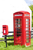 telephone booth and letter box, Scotland