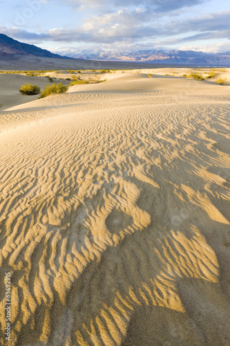 Stovepipe Wells sand dunes, Death Valley NP,California,USA