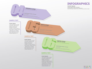 Infographics Numeric Set2