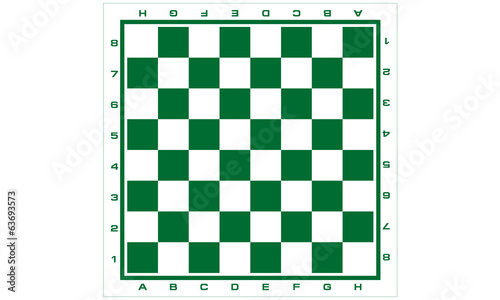 Chess Board for Print