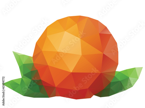 Polygonal Orange