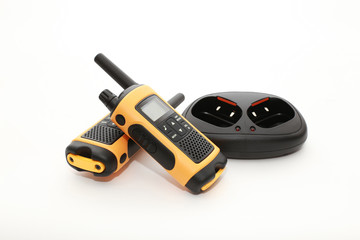 Walkie Talkies. Concept of Wireless Communications