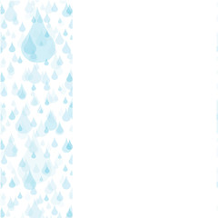 Water drops background, vector illustration