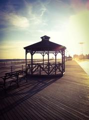 Quiosco en paseo marítimo Coney Island