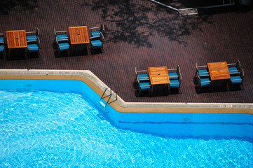 Swimming Pool- Bird Eye View