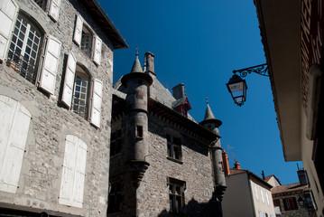 Aurillac street, Auvergne, France