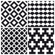 set of geometric pattern background