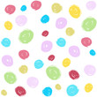 fresh colorful kids brush stroke seamless pattern
