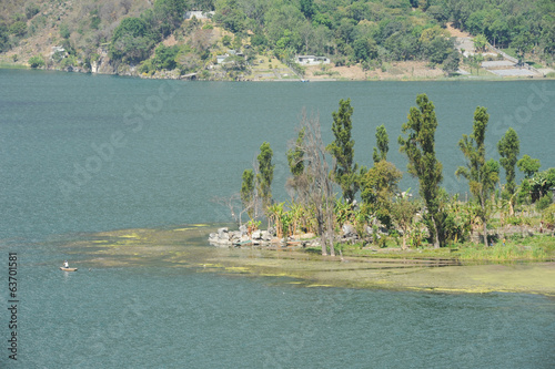 Lake Atitlan at Santiago de Atitlan
