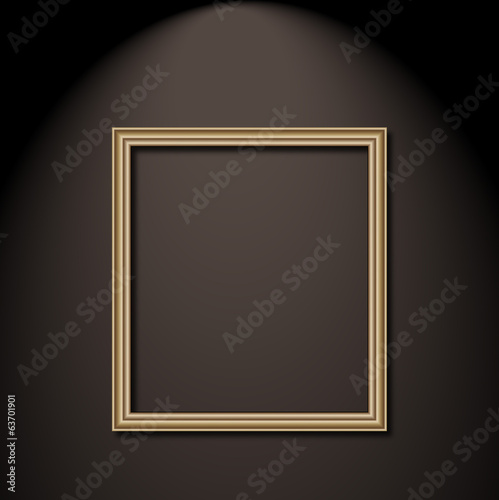 frame picture art vector