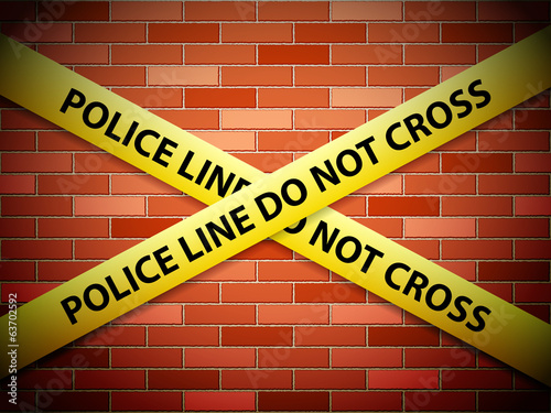 police line background