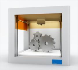 3d printer, printing gears