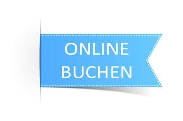 Schild blau online buchen