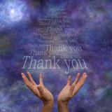 Fototapety Thanking the Universe