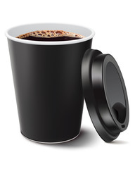 coffee cup isolated. Vector illustration