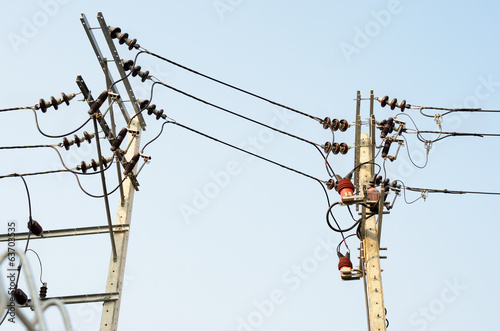CT & PT with Electrical transmission lines