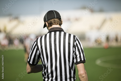 canvas print picture American football referee