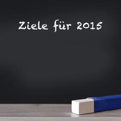 ziele für 2015 tafel