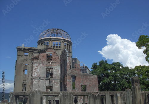 Atomic Bomb Dome in Hiroshima