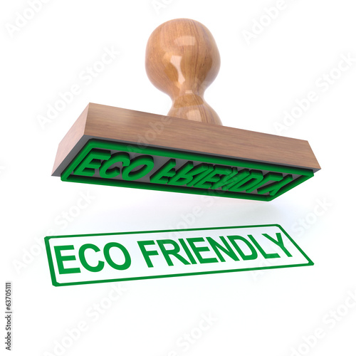 3d Eco friendly stamp
