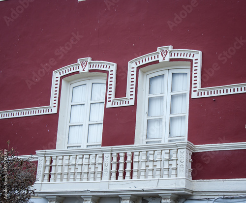 Balcony and Windows