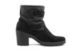 short women leather boot