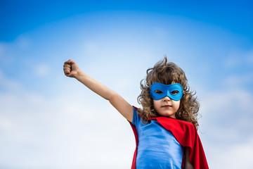 Superhero child