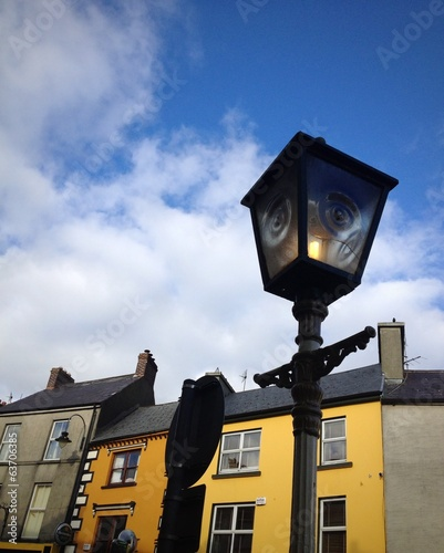 streetlamp in listowel, ireland