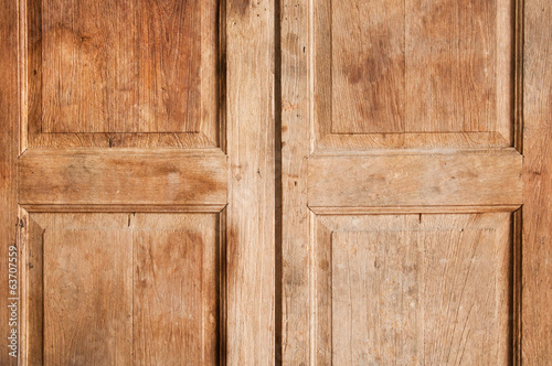 old wood classic door texture