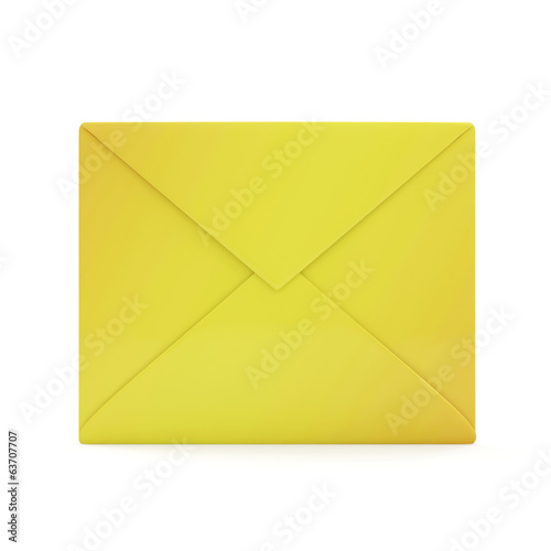 Envelope Icon isolated on white background
