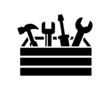 toolbox with tools icon - 63707900