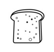 toast bread icon