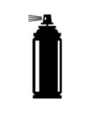 Fototapety spray can icon