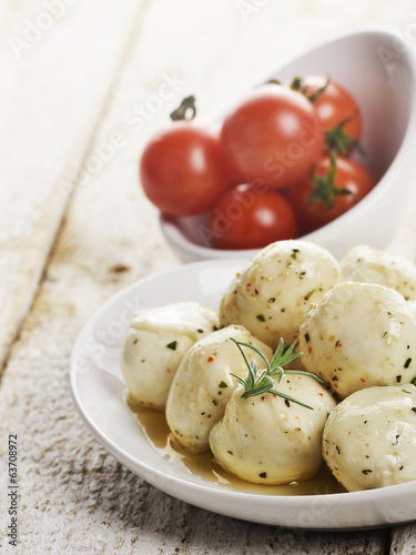 Mozzarella Cheese And Cherry Tomatoes
