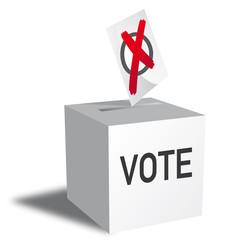 voting, ballot box