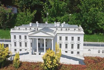 """The White House, USA.Klagenfurt. Miniature Park """"Minimundus"""". Au"""