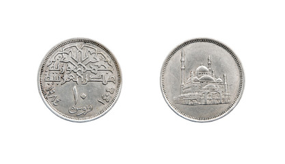 Coin 10 piastres. Egypt