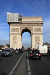 Restauro dell'Arco di Trionfo di Parigi