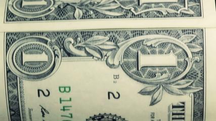 Dollar bill macro rotating