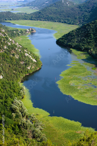 Crnojevica River And Lake Skadar National Park, Montenegro