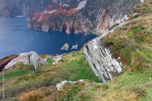 Slieve League, highest cliffs of Ireland