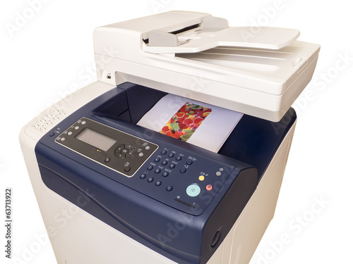 Multifunction color printer