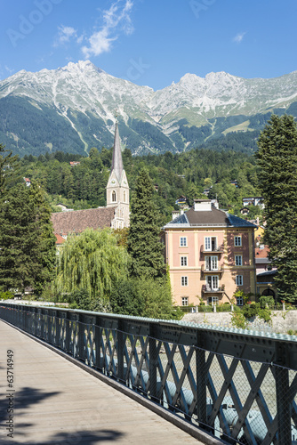 Saint Nicholas parish church in Innsbruck, Austria