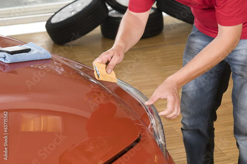 Nano Coating on Car