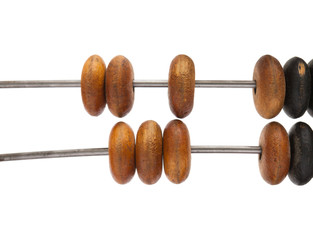 antique wooden abacus