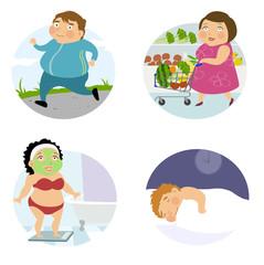 health life character set