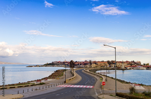 Nessebar city on the Black Sea