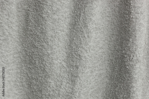 Waving white towel texture